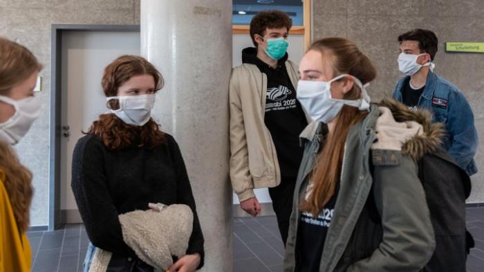 Berlin beschließt Maskenpflicht an Schulen