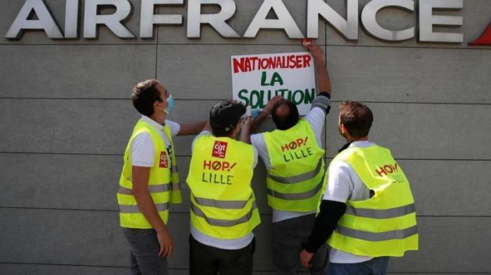 Le groupe Air France va supprimer 7.580 postes d