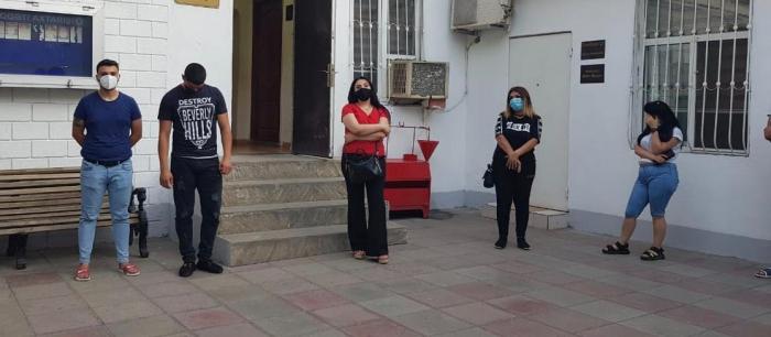 Karantin qaydalarını pozan 17 nəfər cərimələndi -    FOTOLAR