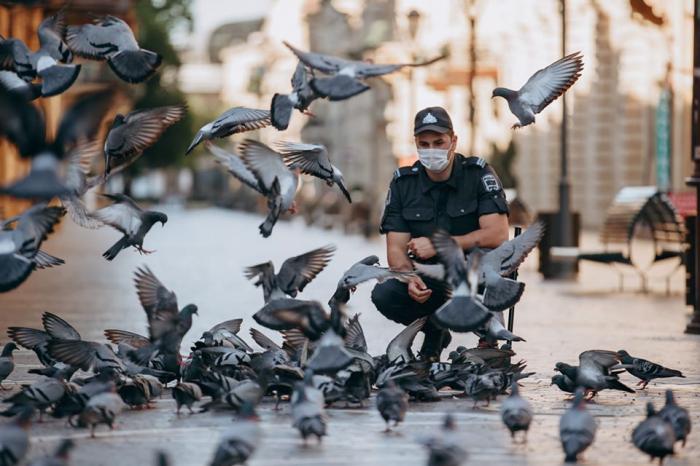 102 yaşlı Azərbaycan polisi -  FOTOLAR