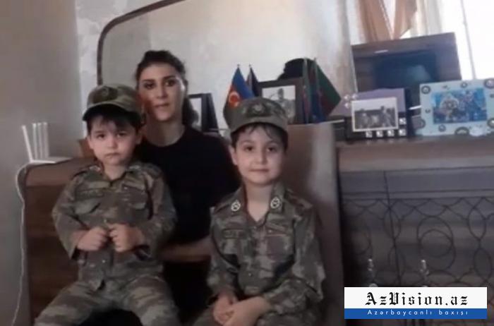 Şəhidin xanımı Prezidentə və Mehriban Əliyevaya təşəkkür etdi -  VİDEO