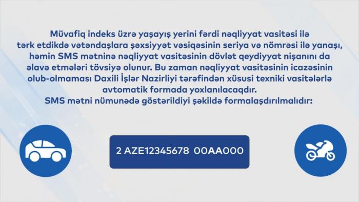 Sabahdan 16 şəhər və rayonda SMS icazə tətbiq olunacaq -  QAYDALAR
