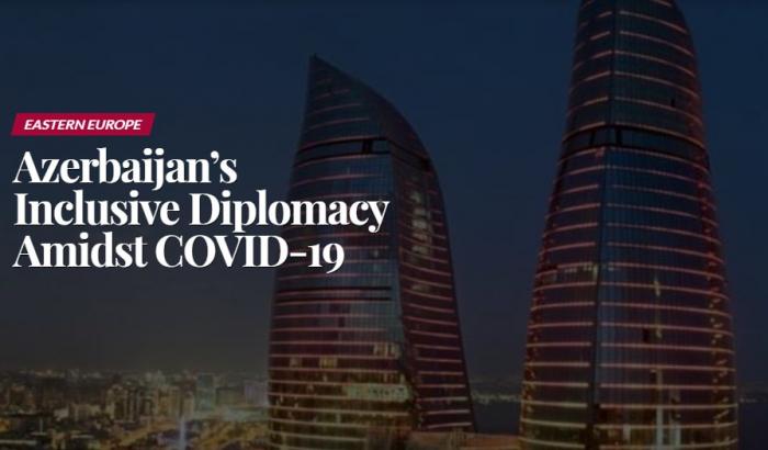 Pandemiya dövründə Azərbaycanın inklüziv diplomatiyası
