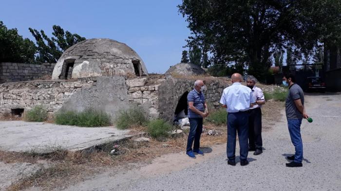 Maştağadakı tarixi hamam nəzarətə götürülüb