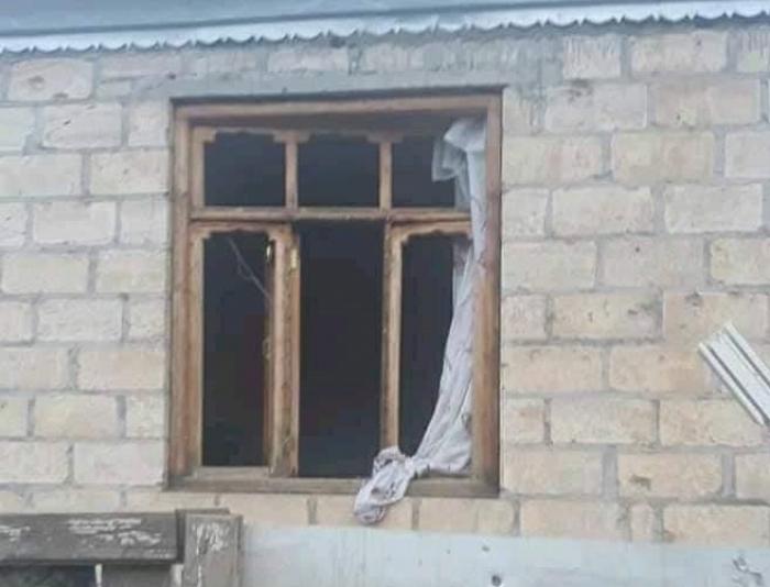 Ermənilər Tovuzda 10-dan çox evə ziyan vurub  -  FOTO
