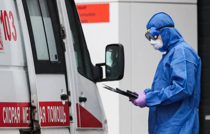 Rusiyada virus qurbanlarının sayı 9859-a çatıb