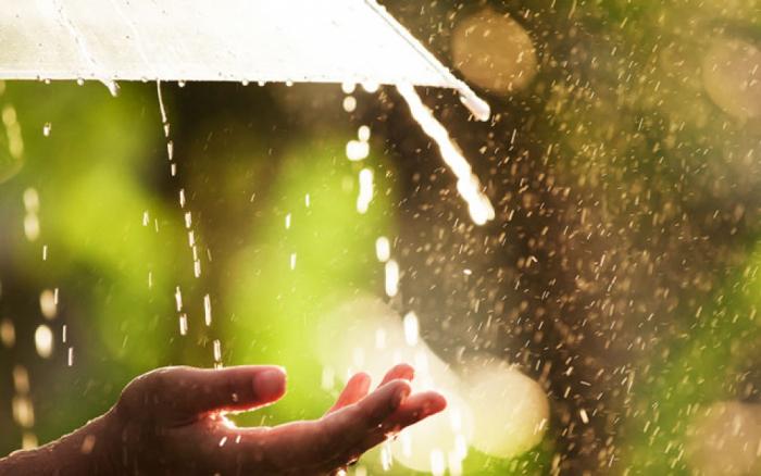 Rayonlara leysan yağıb -    Faktiki hava