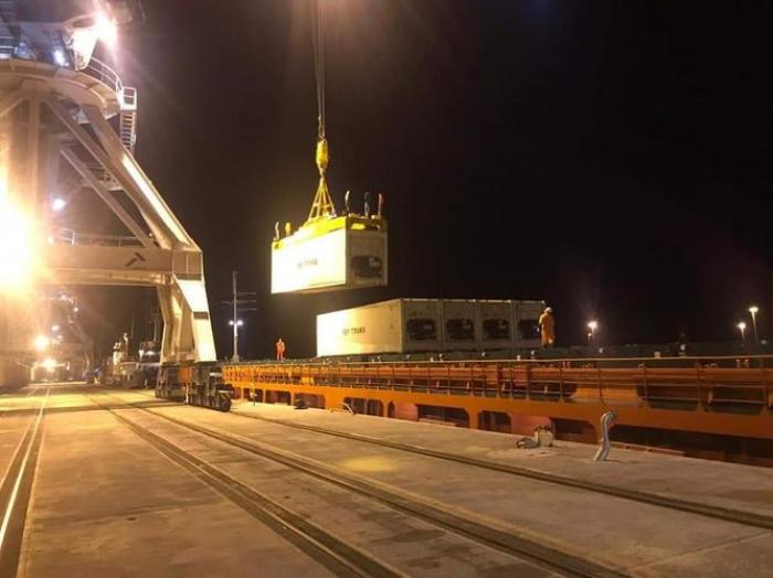 Bakı Limanından keçən qatar Ankaraya çatdı