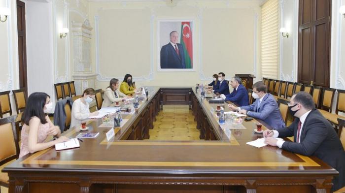 La coopération entre l'Azerbaïdjan et le CICR au menu des discussions