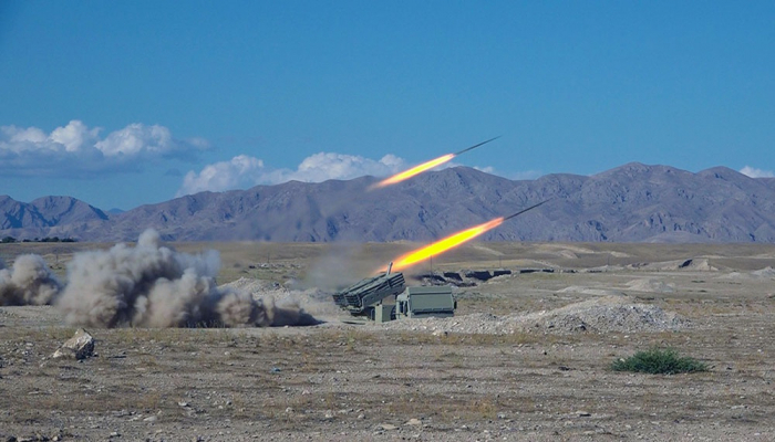 Artillery units of Azerbaijan's Combined Arms Army conduct live-fire exercises -  VIDEO