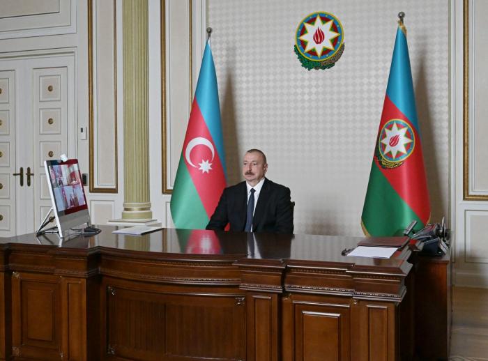 """""""La solidarité est importante en période de pandémie"""", Ilham Aliyev"""