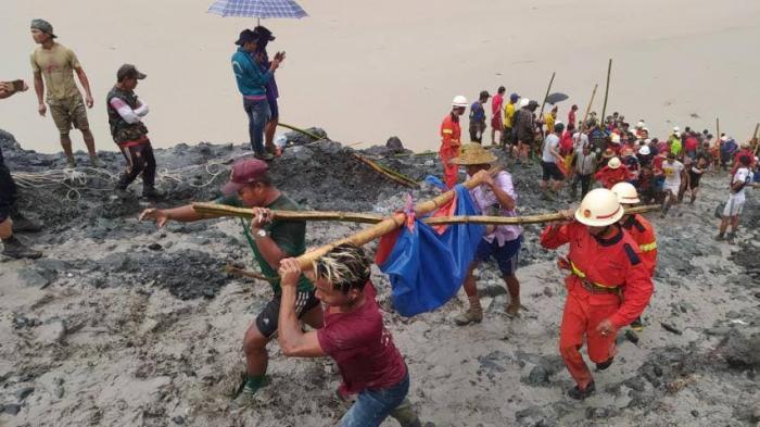 Tragödie in Myanmar: Zahl der Todesopfer nach Erdrutsch auf mindestens 160 gestiegen