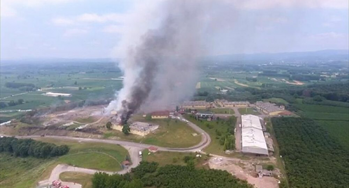 Blasts at Turkish fireworks factory kill two, wound 73