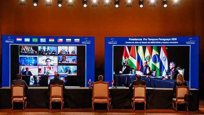 Países del Mercosur concluyen cumbre y acuerdan intensificar cooperación para combatir el coronavirus
