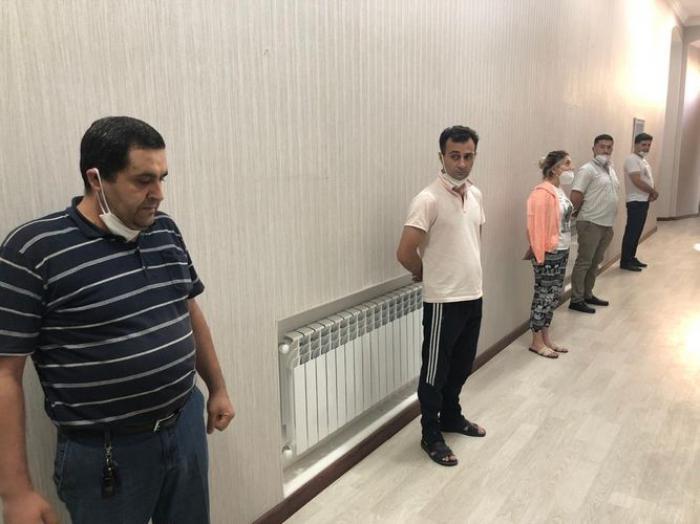 """Bakıda """"ad günü"""" keçirənlər cərimələndi -  VİDEO"""