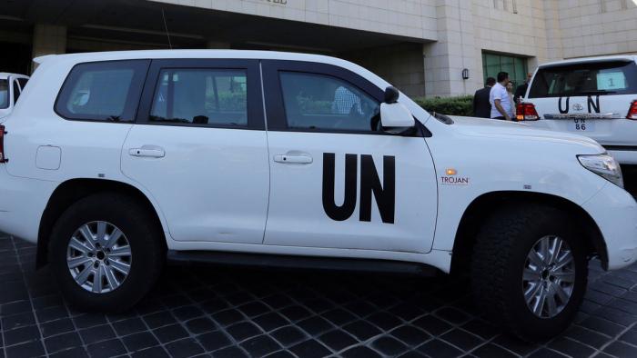 Suspenden a dos empleados de la ONU por un video sexual en un vehículo oficial en plena calle
