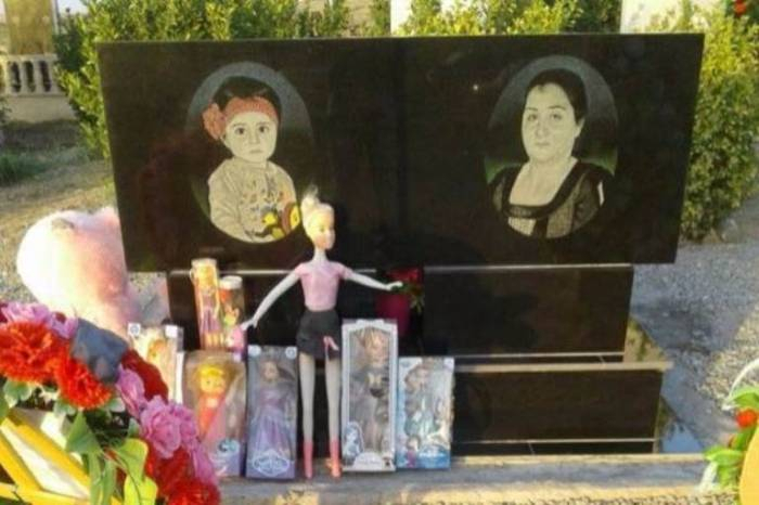 Alkhanly tragedy:  3 years pass since murder of toddler Zahra by Armenians -  PHOTOS