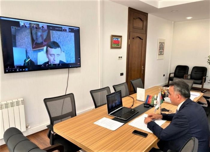 Caspian European Club conducts online meeting with participation of chairman of Bar Association of Azerbaijan