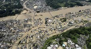 Se eleva a 20 muertos el balance de las inundaciones en Japón