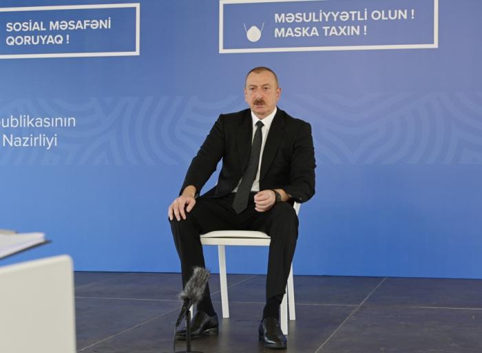 """Prezident:  """"Döymədikləri qapı qalmayıb ki, onlara yardım etsinlər"""""""