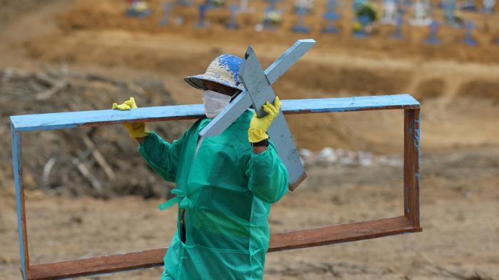 Brasil registra 26.051 nuevos casos de coronavirus y 602 muertes por covid-19 en un día