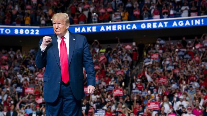 Trump kündigt nächstes Wahlkampf-Event an