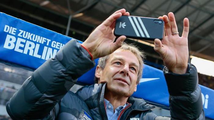 Klinsmann bereut Art des Hertha-Abgangs
