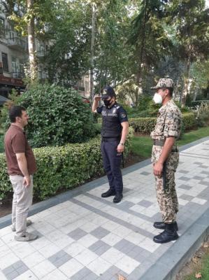 La policía sigue llevando a cabo amplias actividades de prevención y control en la capital