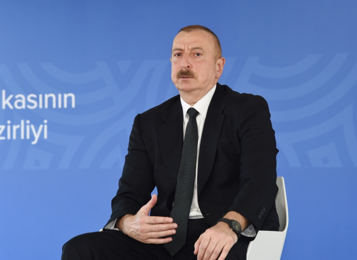 """Keeping the coronavirus restrictions in place is the right decision"" - Ilham Aliyev"