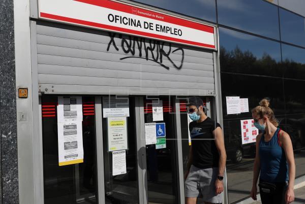 España, uno de los países de OCDE más golpeados, puede llegar al 20 % de paro