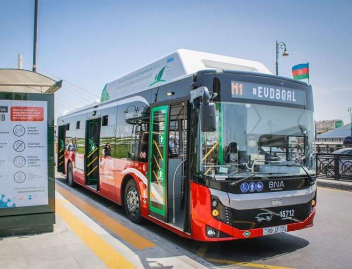 Ekspress avtobusların iş qrafiki dəyişdirildi