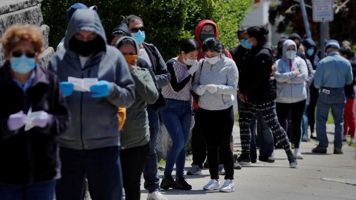 EE.UU. registra más de 65.000 nuevos casos de covid-19 y 1.000 muertes en un día