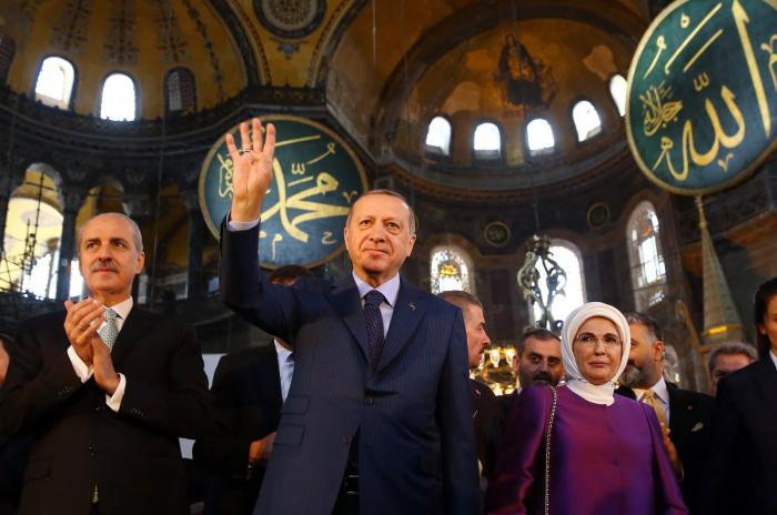 Erdogan: Hagia Sophia to open for worship on July 24