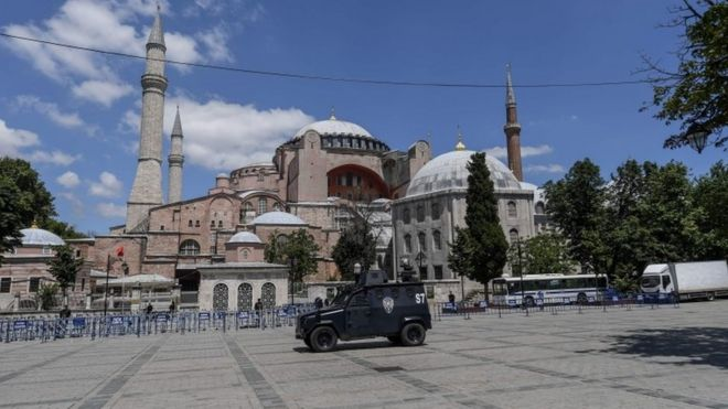 Hagia Sophia: World Council of Churches appeals to Turkey on mosque decision