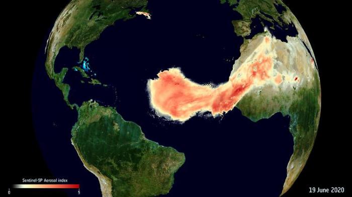 """Godzilla"" fegt über den Atlantik"