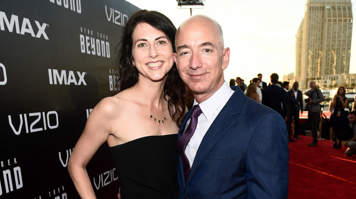Amazon founder's ex-wife become US's richest woman