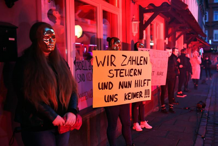 Hamburg sex workers demand Germany