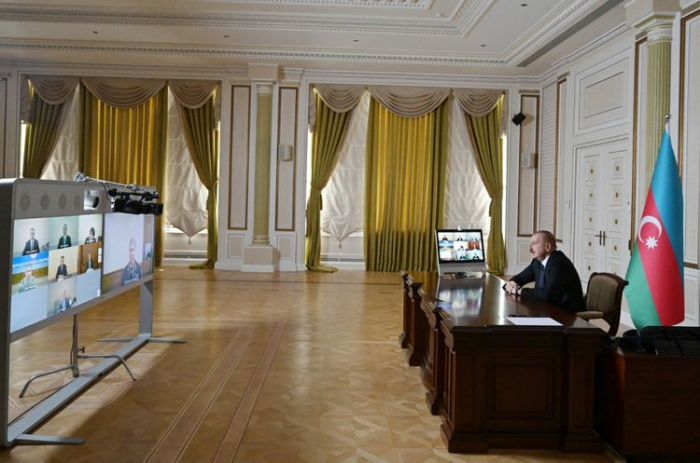 President Ilham Aliyev chairs Security Council meeting