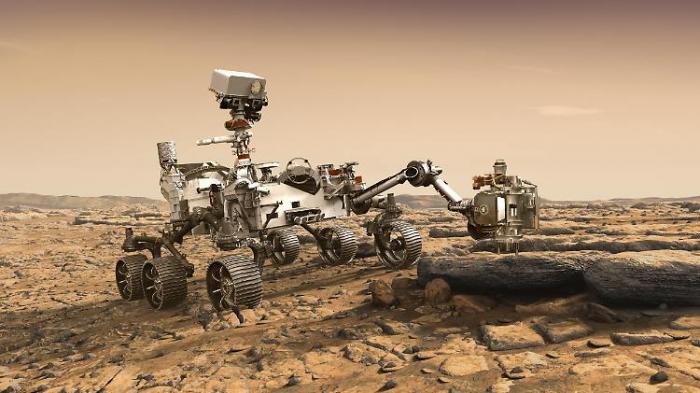 Mars-Missionen werden zum Wettlauf