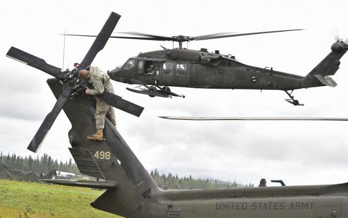 Im Laufe dieser Woche:     US-Militärhubschrauber treffen zu Übungszwecken in Lettland ein