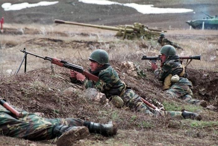 Armenian armed forces fired at Azerbaijan