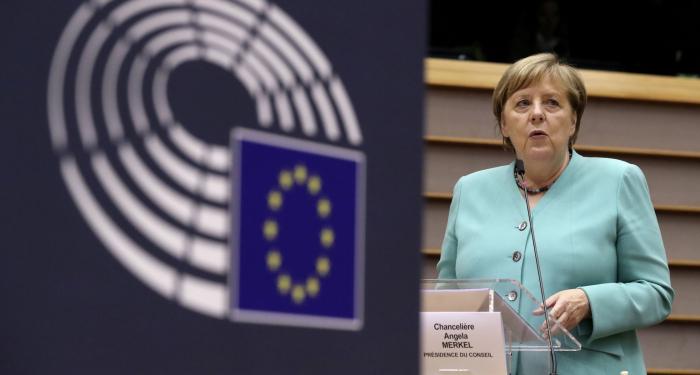 Merkel drängt auf europäische Zusammenarbeit in Corona-Krise