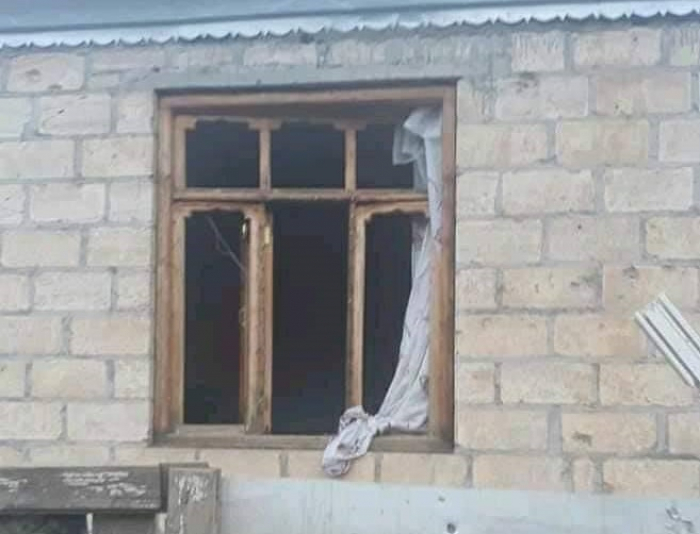 Armenian Armed Forces continue to shell residential houses on border with Azerbaijan