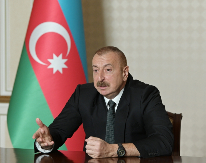 """""""Onların fikri 1990-cı illərin əvvəllərinə getməsin"""" -    İlham Əliyev"""