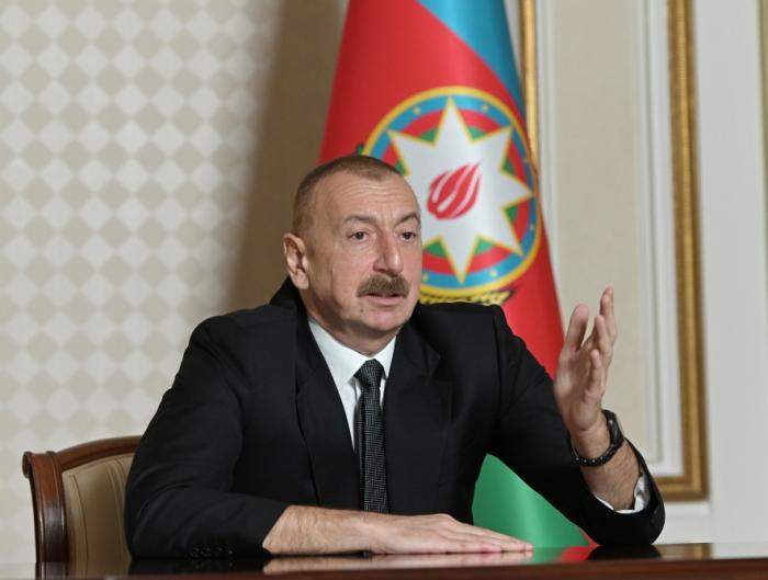 """İlham Əliyev:    """"Azərbaycan xalqının səbrinin həddi var"""""""