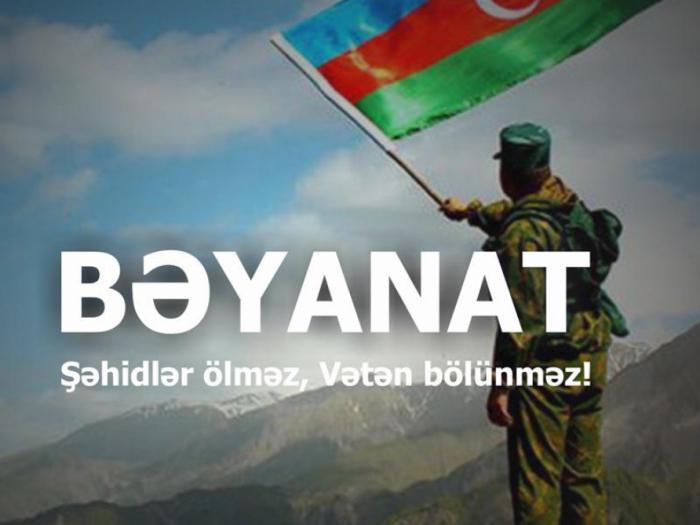 Gənclər təşkilatları hüquq-mühafizə orqanlarına müraciət edib