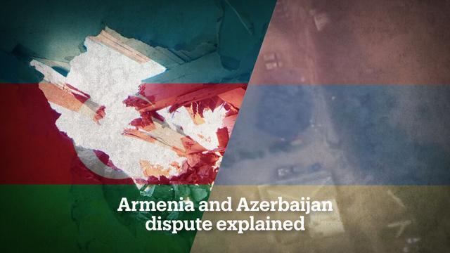 Armenia and Azerbaijan's border dispute explained -   VIDEO