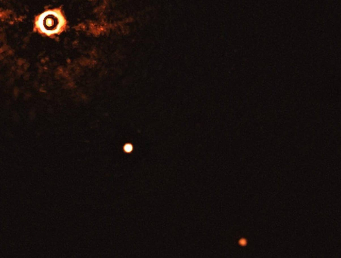 First ever   picture   of a multiplanetary system like our own released