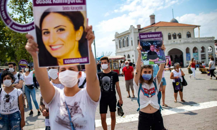 Murder in Turkey sparks outrage over rising violence against women