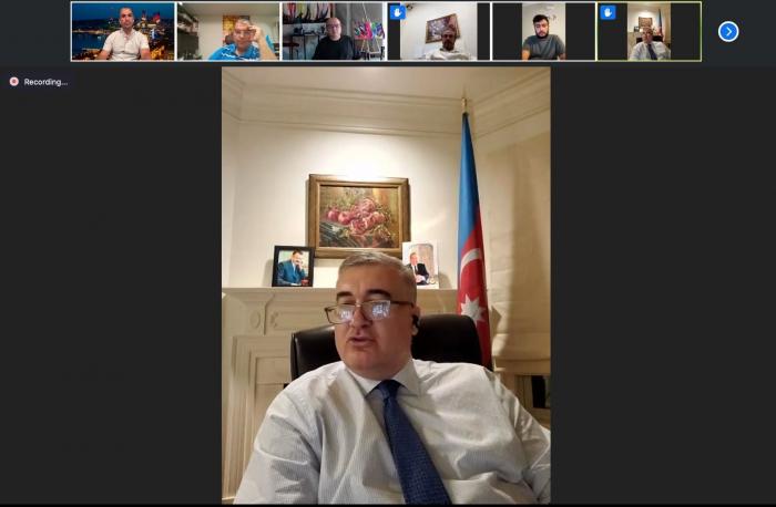 Elin Suleymanov meets with members of Azerbaijani community in US